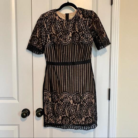 Black Lace Dress M